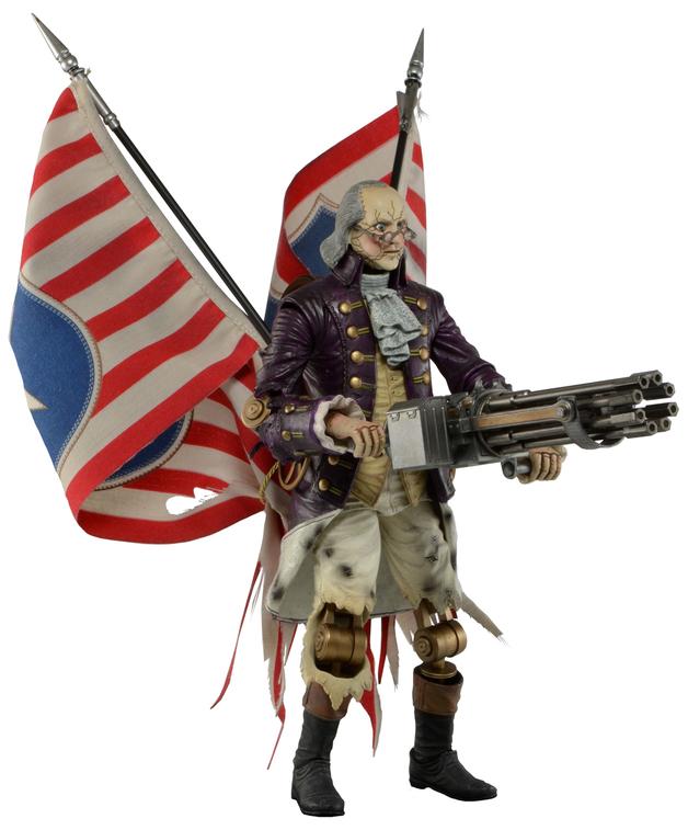 Bioshock Infinite Benjamin Franklin Patriot Action Figure