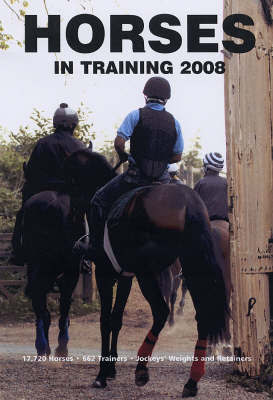 Horses in Training: 2008
