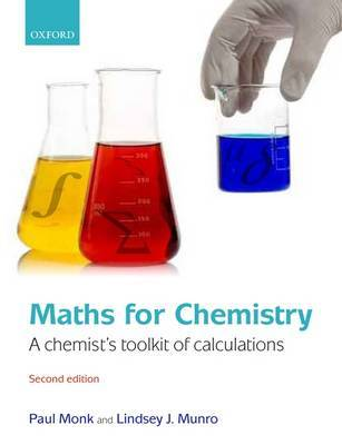 Maths for Chemistry by Paul Monk image