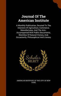 Journal of the American Institute image