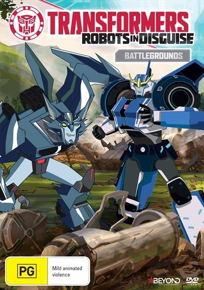 Transformers: Robots In Disguise: Battlegrounds on DVD image