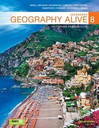 Jacaranda Geography Alive 8 Victorian Curriculum Ebookplus & Print by J Mraz
