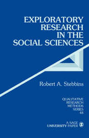 Exploratory Research in the Social Sciences by Robert Alan Stebbins image