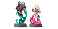 Nintendo Amiibo Off the Hook Inkling Girls Double Pack for