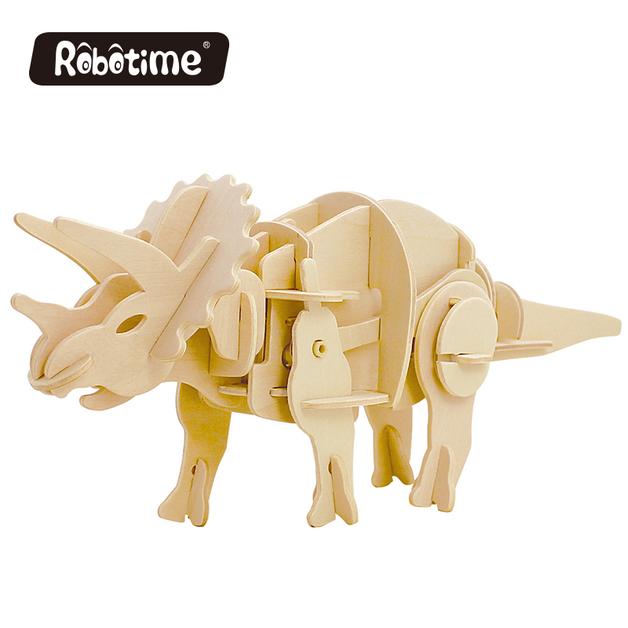 Robotime: Power Triceratops