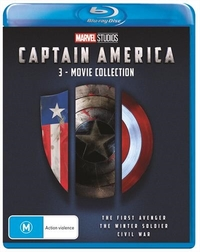 Captain America: 3 Movie Collection on Blu-ray