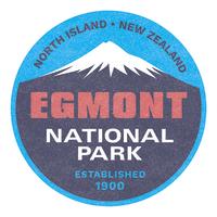 100 Percent NZ - National Parks Ceramic Coaster - Egmont