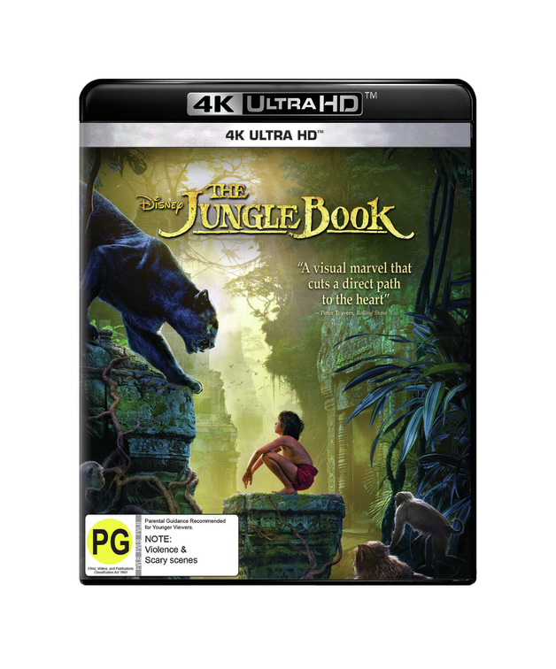 The Jungle Book (2016) on UHD Blu-ray