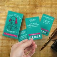 Gift Republic: Shakespearean Profanities Cards