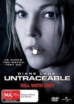 Untraceable on DVD