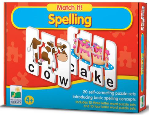 Match It - Spelling image