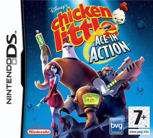 Chicken Little: Ace in Action for Nintendo DS