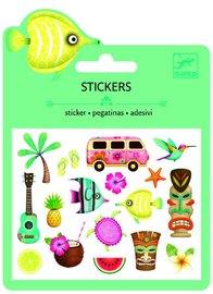 Djeco: Mini Stickers - Hawaiian Designs