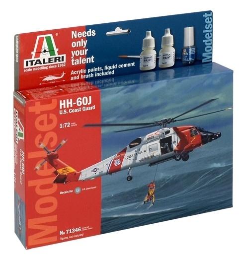 1/72 HH-60J U S  Coast Guard - Model Kit | at Mighty Ape NZ