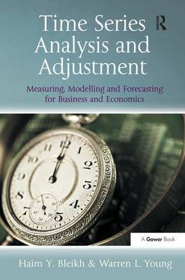Time Series Analysis and Adjustment by Haim Y. Bleikh image