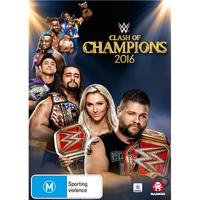 WWE: Clash Of Champions 2016 on DVD