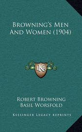 Browning's Men and Women (1904) by Robert Browning