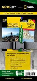 Best Easy Day Hiking Guide and Trail Map Bundle: Lake Tahoe by Tracy Salcedo Chourre image