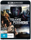 Transformers: The Last Knight on Blu-ray, UHD Blu-ray