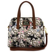 Loungefly: Disney Princesses - Floral Crossbody Bag