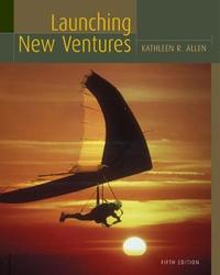 Launching New Ventures by Kathleen R. Allen image