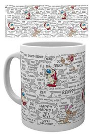 The Ren & Stimpy Show Mug - Quotes