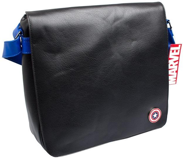 Captain America Record Messenger Bag