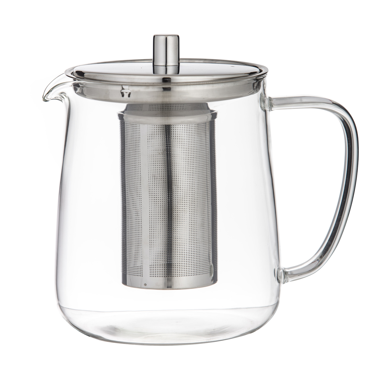 Leaf & Bean: Oslo Glass Teapot with Infuser (17.5x12x17cm/5 cup/1L) image