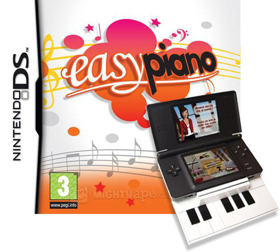 Easy Piano (with Keyboard) for Nintendo DS