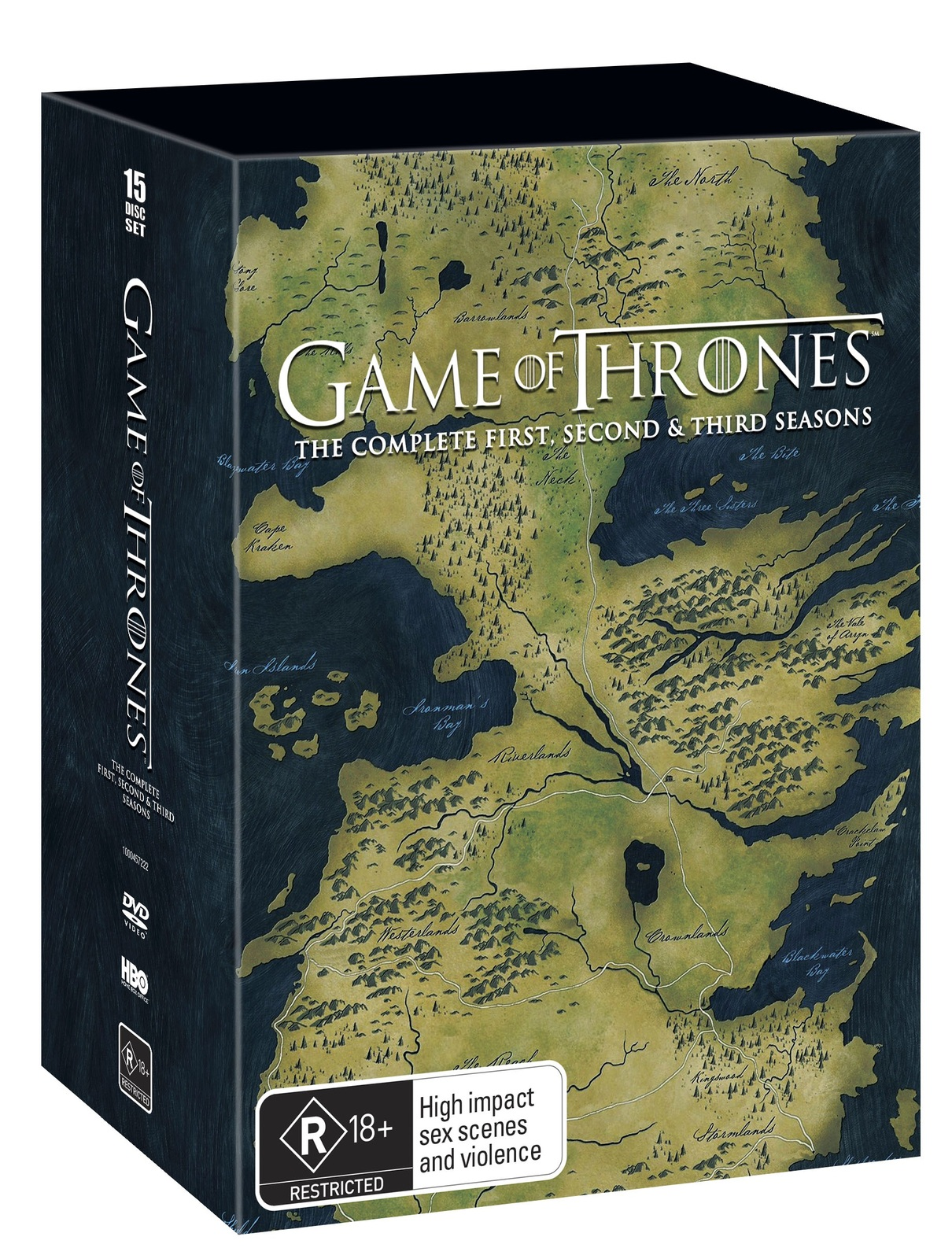 Amazon.com: Game of Thrones: The Complete Seasons 1-7 (DVD ...