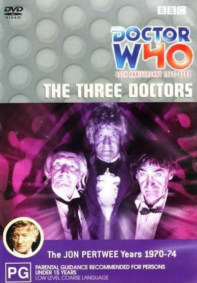 Doctor Who: The Three Doctors on DVD
