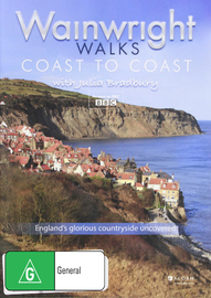 BBC Wainwright Walks Coast To Coast on DVD