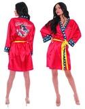 DC Bombshells: Wonder Woman Satin Robe (Medium)