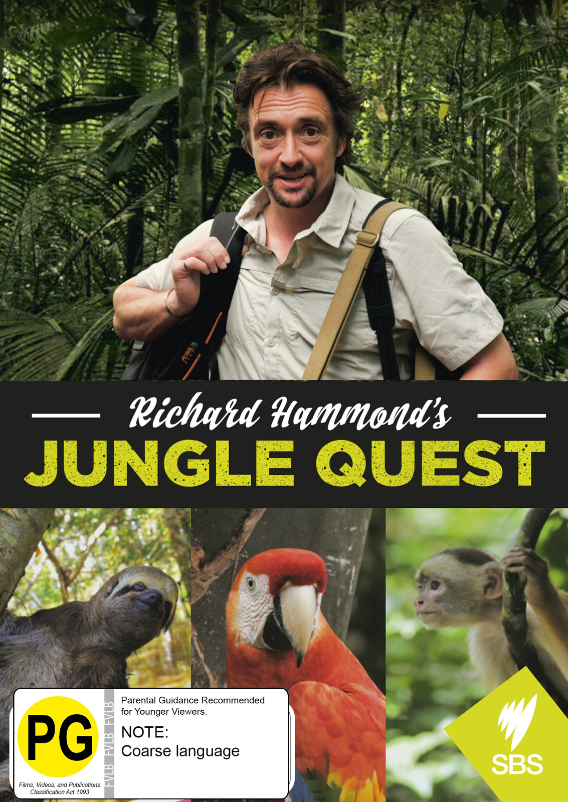 Richard Hammond's Jungle Quest on DVD image
