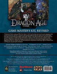 Dragon Age RPG: Game Master's Kit by Chris Pramas
