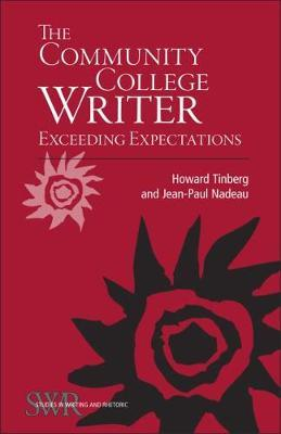The Community College Writer by Howard Tinberg image