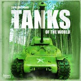 Tanks of the World 2018 Square Wall Calendar