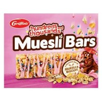Griffin's Hundreds & Thousands Muesli Bars (180g) image