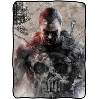 Marvel's The Punisher: Frank Castle Stitches - Fleece Throw Blanket image