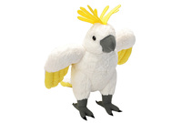 Cuddlekins: Sulphur Crested Cockatoo - 12 Inch Plush