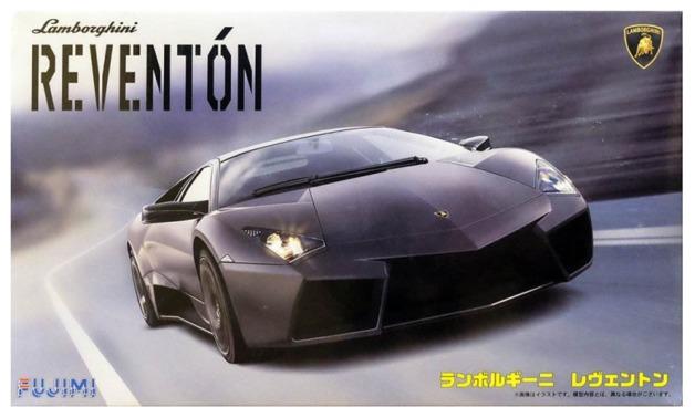 1 24 Lamborghini Reventon Model Kit At Mighty Ape Australia