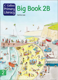 Collins Primary Literacy: Bk. 2B: Big Book by Karina Law image