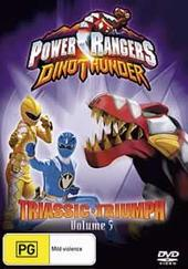 Power Rangers Dinothunder: Vol 5 Triassic Triumph on DVD