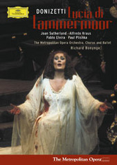 Donizetti: Lucia di Lammermoor on DVD