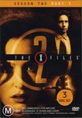 X-Files, The Season 2: Part 1 (3 Disc) on DVD