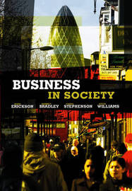 Business in Society by Mark Erickson image
