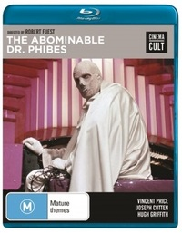 Abominable Dr Phibes on Blu-ray image