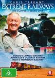 Chris Tarrant's Extreme Railways -Series 1 on DVD