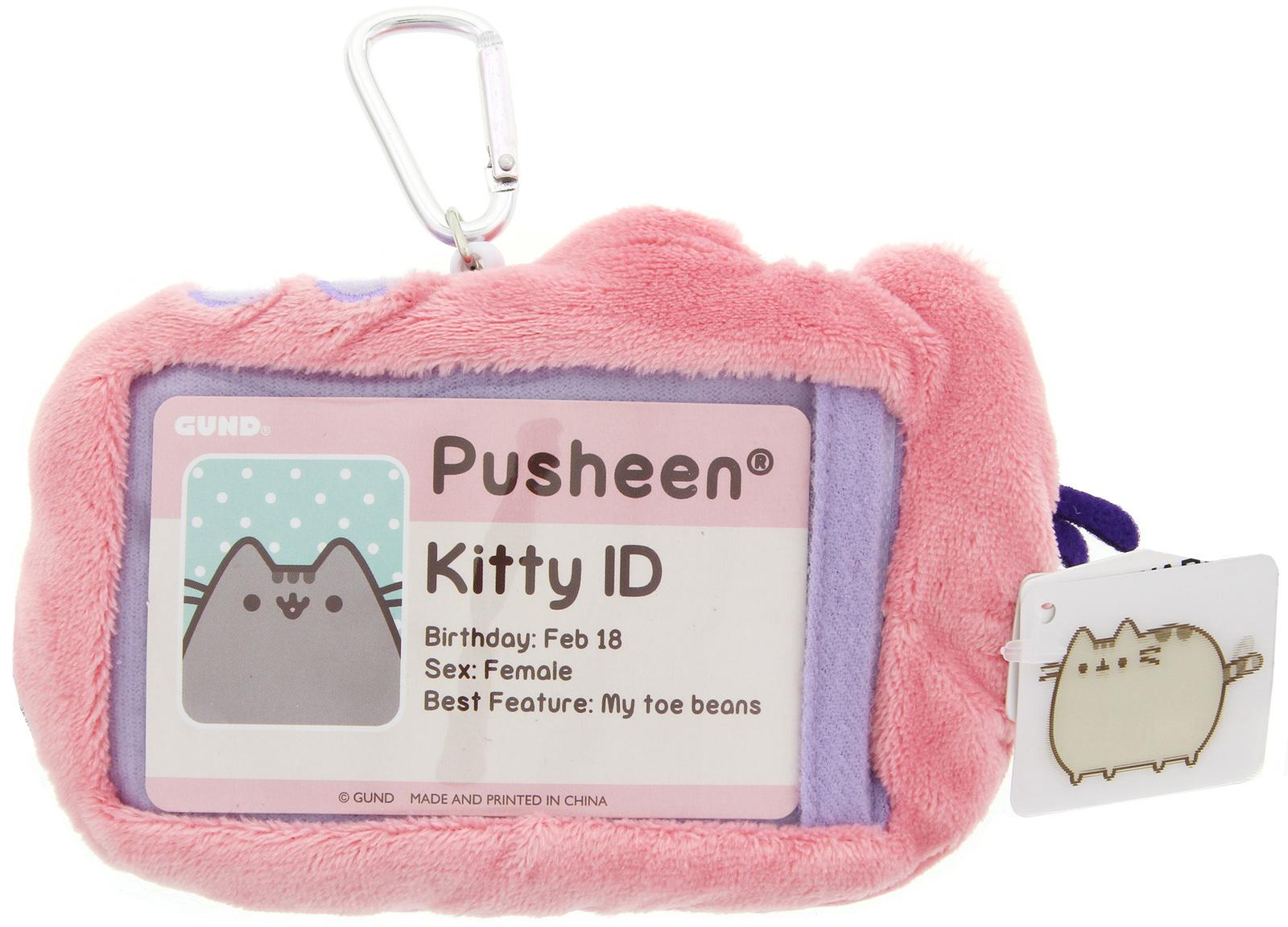 Pusheen: ID Holder Wallet Case - Pastel Pink image