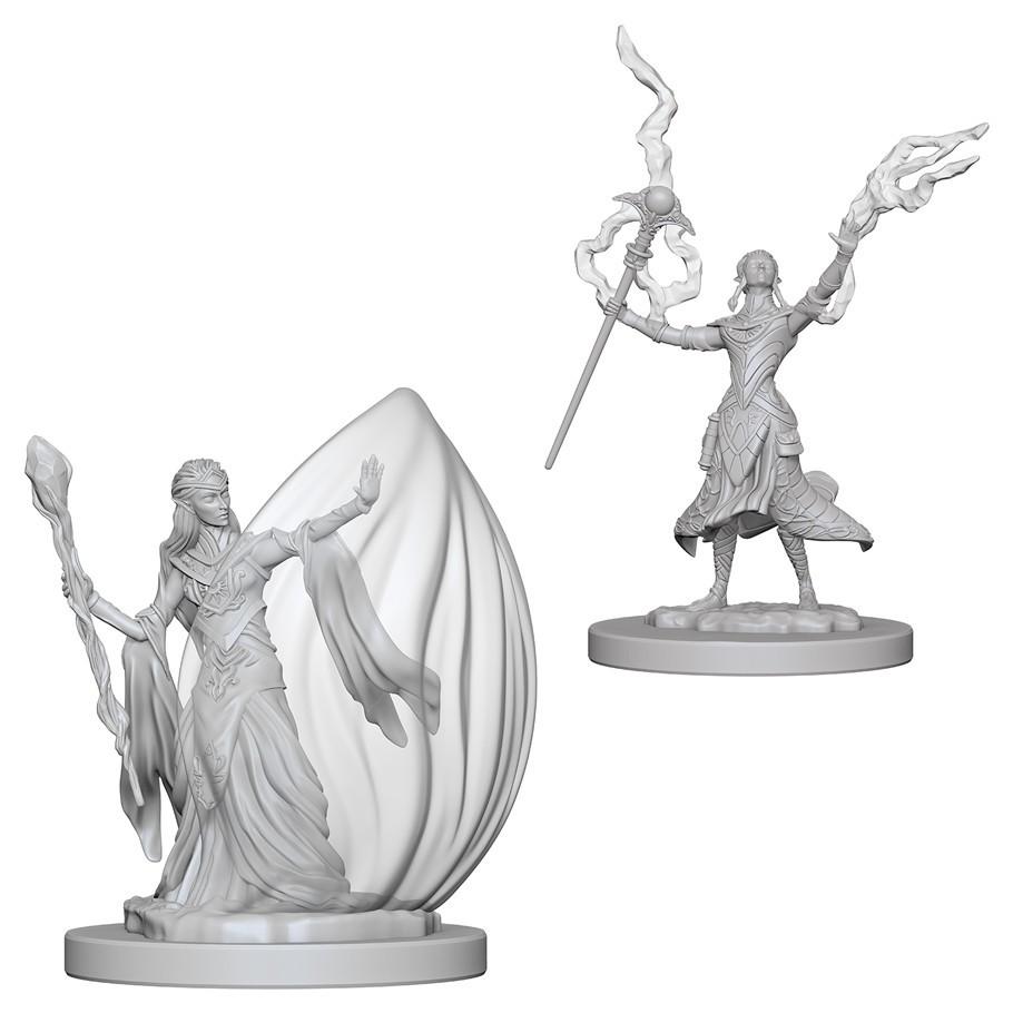 D&D Nolzur's Marvelous: Unpainted Minis - Elf Female Wizard image